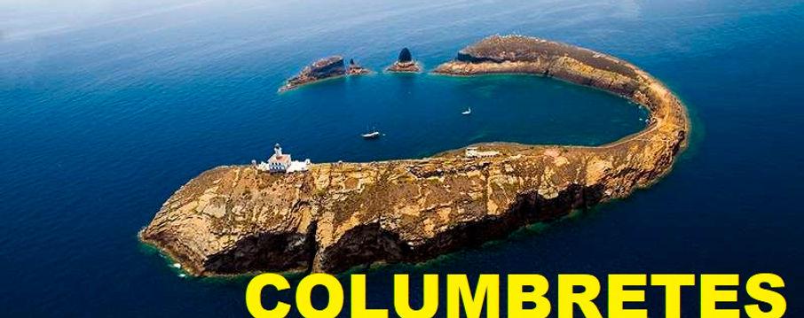 fondeo veleros en Columbretes desde el aire