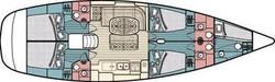 Map of vessel