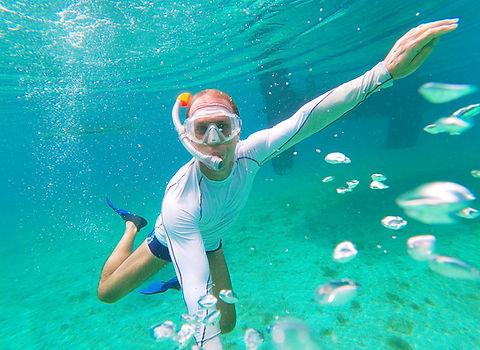 Snorkel en islas de San Blas, Panamá