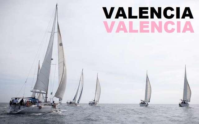 Salida en barco velero por Valencia