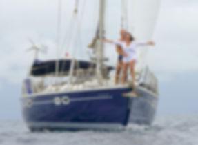 Navegar en velero en San Blas, Panamá