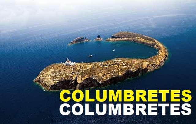 Grossa island in Columbretes