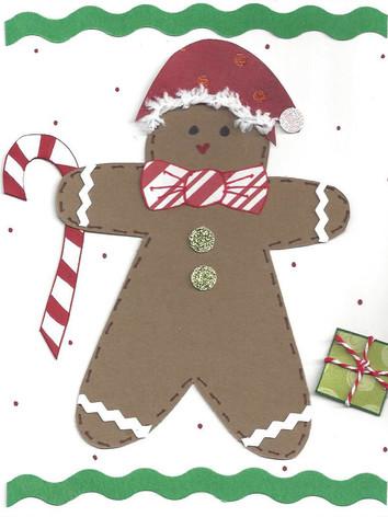 Gingerbread Card (Male)
