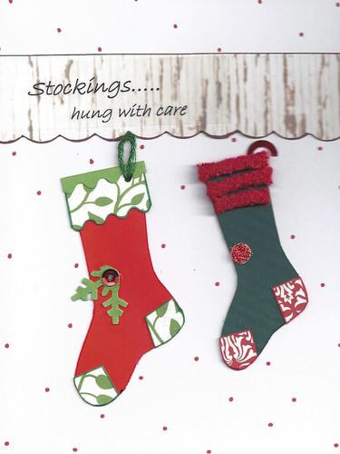 Hanging Stockings Card