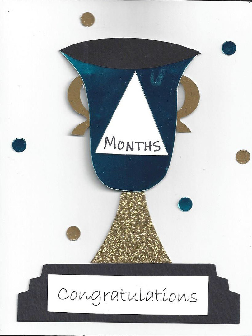 Congratulations Card (Blue)