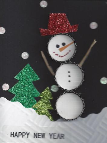 Snowman Card (Small)