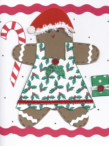 Gingerbread Card (Female)