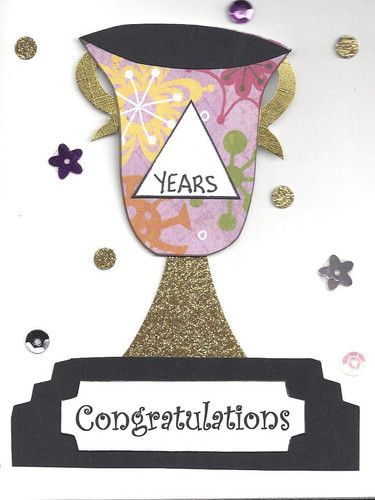 Congratulations Card (Floral)