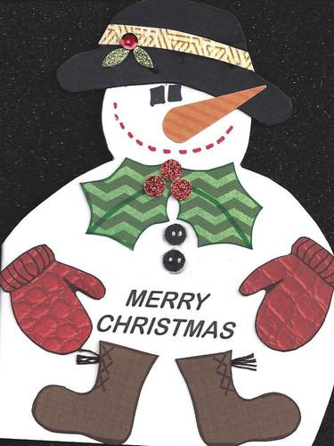 Snowman Card (Large)