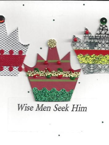 Wise Men Seek Him Card