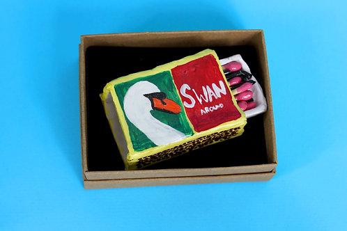 SWAN MATCHES - Ceramic - Handmade