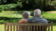 elderly-couple-relaxing-bench-footage-00