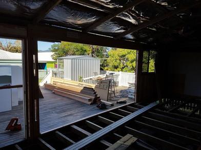 Renovation in progress