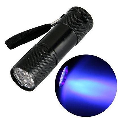 Linterna UV 9 leds