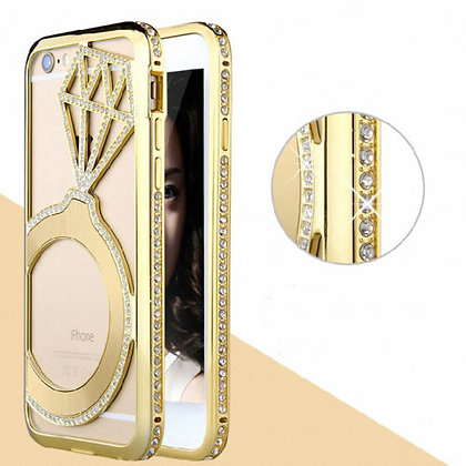 Funda luxury iphone 6 plus diamante