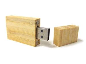 Memoria usb 8gb madera