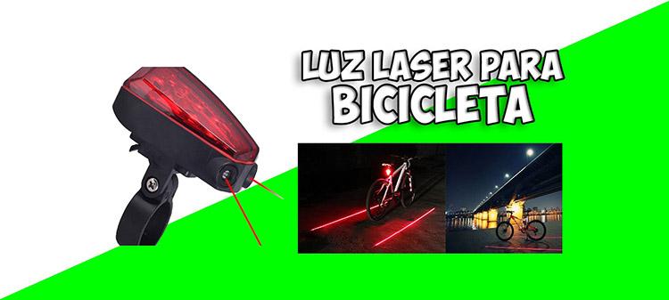 luz laser bicicleta mongadget