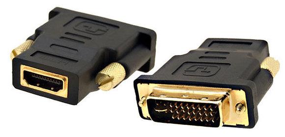 Adaptador Conversor HDMI Hembra a DVI 24+1 Macho