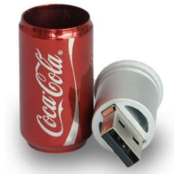 Memoria usb 8gb Lata cola