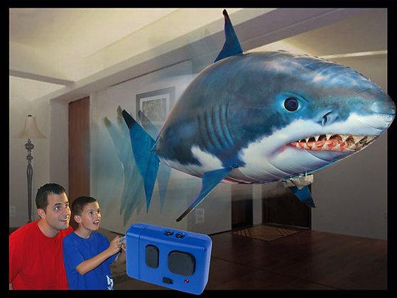 Pez volador a radio control tiburón
