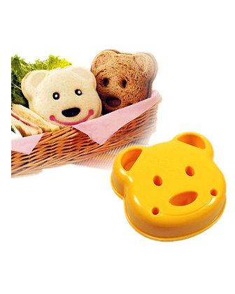 Molde para Sandwich con forma de oso