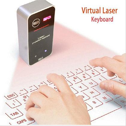 Teclado láser para PC, smartphone, etc