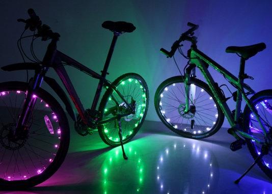 Luz led´s para ruedas