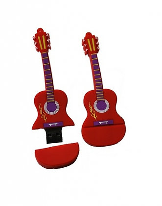 Memoria usb 8gb guitarra
