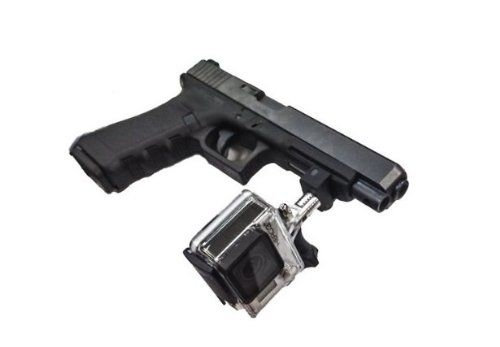 Adaptador gopro para pistola glock