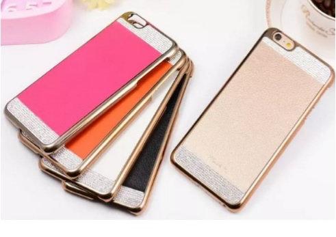 Funda luxury iphone 6 plus gold gras