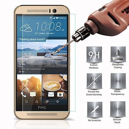 Protector HTC One M9 de cristal templado