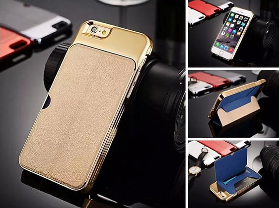 Funda luxury iphone 6 plus con tapa