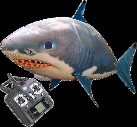 Tiburón volador a radio control