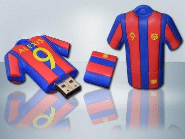 Memoria usb 8gb camiseta barcelona