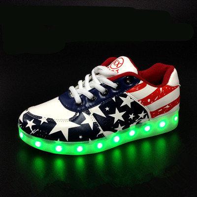 Zapatillas led programables