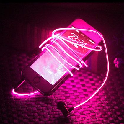 Auriculares led´s luminosos