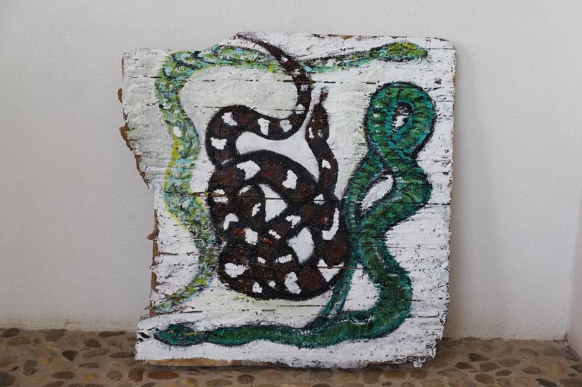 Snake o'clock Unikat