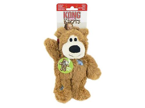 Kong Wild Knots XS Light Brown Bear
