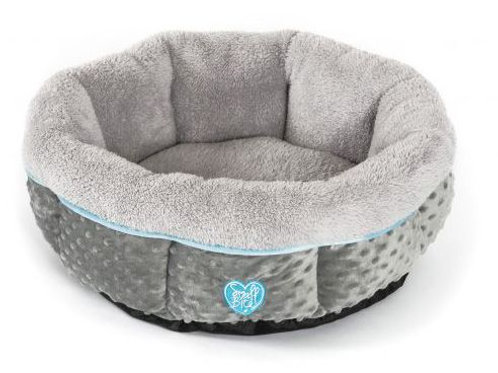 """Small Bite Donut 20"""" Bed Blue"""
