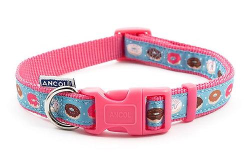 Pink Donut Collar Large