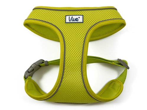Viva comfort mesh harness lime size S