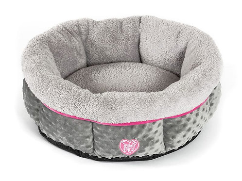 """Small Bite Donut 20"""" Bed Pink"""