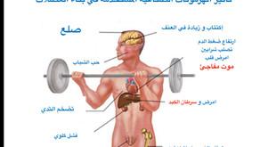 خطر  ابر و حبوب الهرمونات لبناء العضلات تبني العضلات و تقتل الرجوله