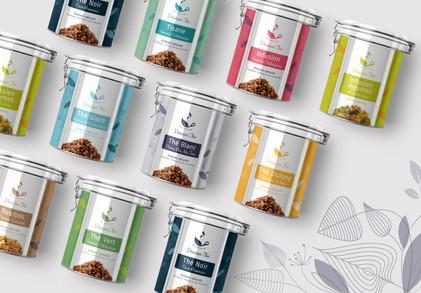 Collection boites métal Douceur thé