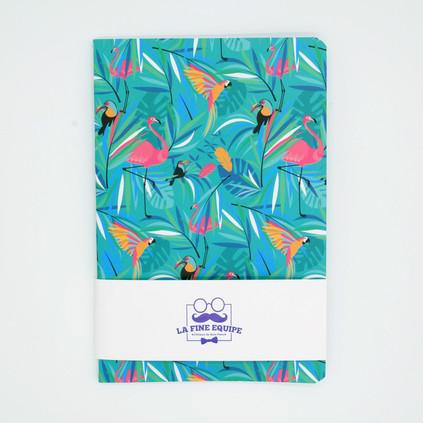 Carnet motif Tropical