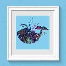 Illustration La Baleine