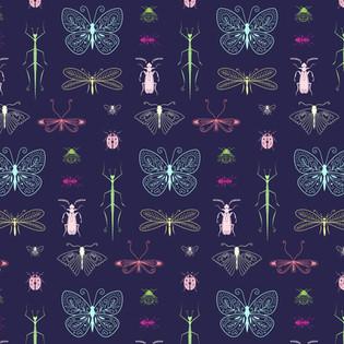 Motif Insecte