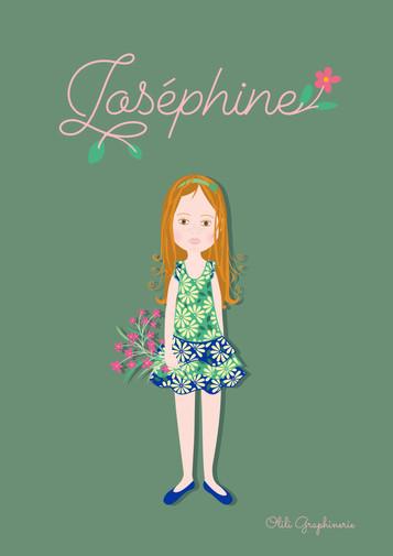 """Portrait """"Joséphine"""""""