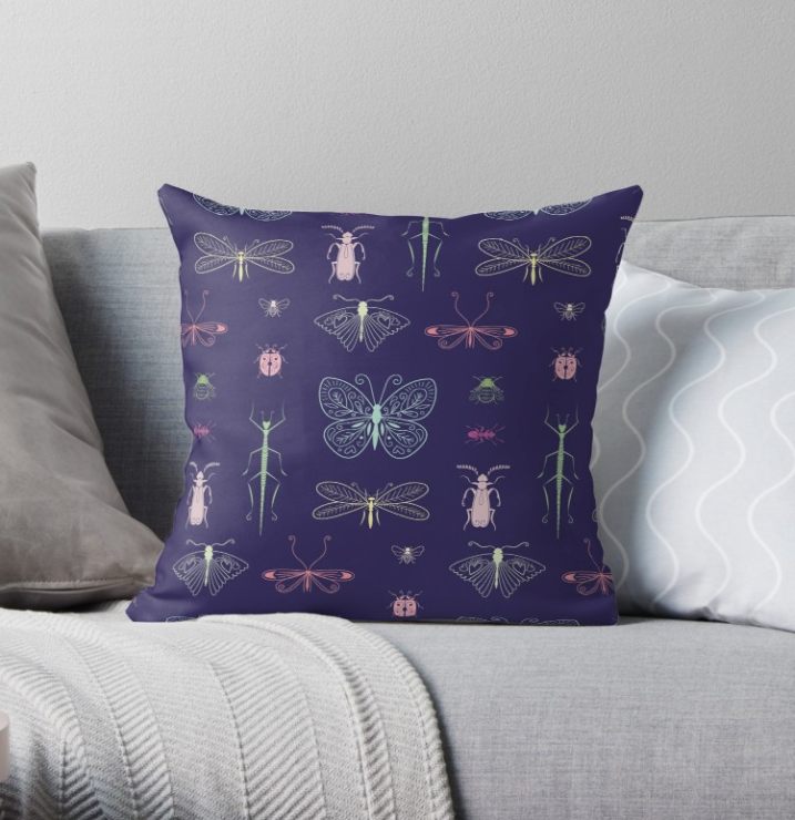 Coussin Insecte