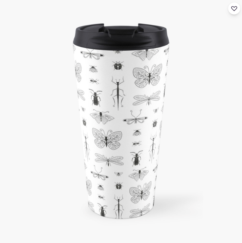 Mug isotherme Insecte